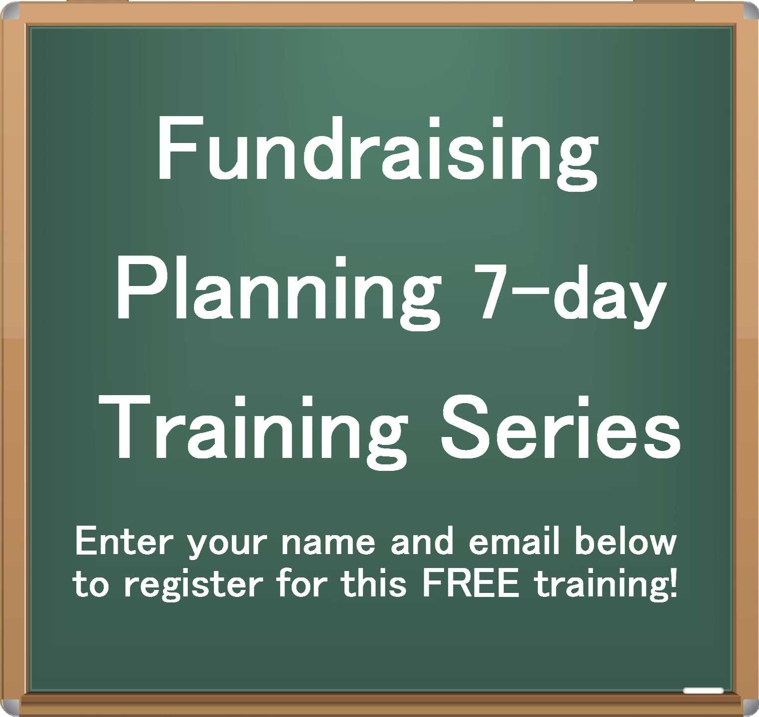 free fundraising planning training