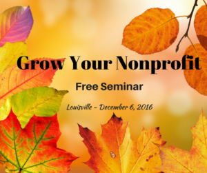 Grow Your Nonprofit Free Seminar